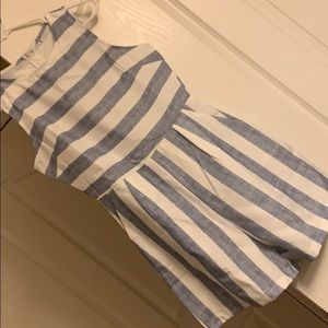 Dresses & Skirts - Blue and White Stripped Romper